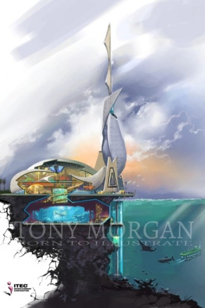 Oman Marian observation tower concept